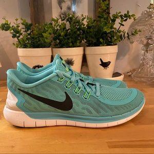 Nike Free 5.0 Running Shoe Size 7.5